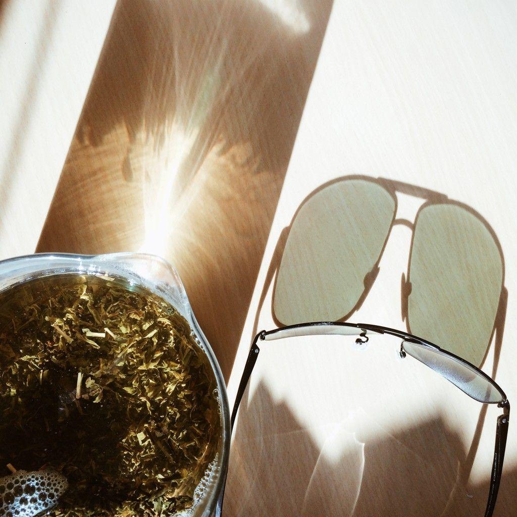 Tee und Sonne